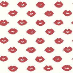 Risky Business 2 Femme Fatale Removable Wallpaper, Red