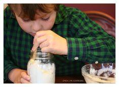 Making Lemon Sugar Scrub with Kids Sugar Scrub Diy, Diy Scrub, Sugar Scrubs, Young Essential Oils, Coconut Oil Body Scrub, Lemon Sugar, Glass Of Milk, Skin Care, Health