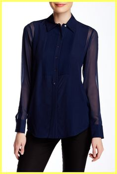 Vince Blue Navy Tuxedo Sheer Silk Panel Shirt Top. Free shipping and guaranteed authenticity on Vince Blue Navy Tuxedo Sheer Silk Panel Shirt Top at Tradesy. New With Tags $325 VINCE. tuxedo silk sheer-panele...