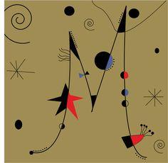 Joan Miro inspired Letter M, using the principle of closure, progression… Luv Letter, Letter Art, Mondrian, Ecole Art, Spanish Painters, Mosaic Garden, Jolie Photo, Illuminated Letters, Typography Logo