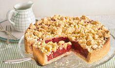 Kirsch-Himbeer-Streuselkuchen Rezept: Ein fruchtiger Kuchen mit Butterstreuseln - Eins von 5.000 leckeren, gelingsicheren Rezepten von Dr. Oetker!