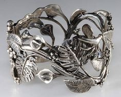 Cuff by Emilia Castillo, current head of the famous Los Castillo silver workshop and daughter of silver masters Don Antonio Castillo & Margot de Taxco.