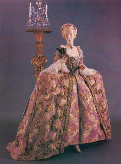 c1750-1755, formal dress, France