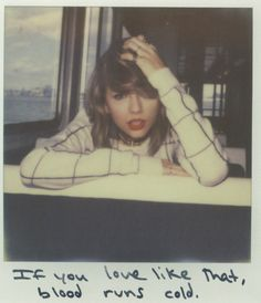 Taylor Swift getting into the Polaroid spirit with her new album! Taylor Swift Songs, Frases Taylor Swift, Taylor Swift Facts, Taylor Swift Pictures, Taylor Alison Swift, 1989 Taylor Swift, Taylor Lyrics, Song Lyrics, Taylor Swift Tattoo