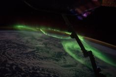 Thursday, July 28, 2016: A stunning aurora danced over south Australian on June 24, 2016. This image, captured by NASA Expedition 48 Commander Jeff Williams, was taken from the International Space Station orbiting Earth.
