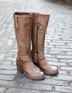 Leather Knee High Boots   Leather Boots   Buy Now From Celtic Sheepskin