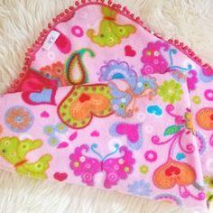 Lovely handmade baby blanket