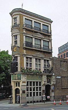 Brandies Pub, 174 Queen Victoria Street - City Of London. by Jim Linwood, via Flickr
