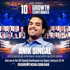 Anik is widely considered as one of todays most successful digital publishing marketers. His specialities include profit-generating product launches building backends and funnels article marketing search engine optimization. Come see @AnikSingal at  http://10XGrowthCon.compic.twitter.com/jGWNDphsiJ