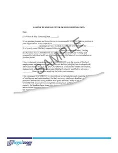 Business Letter Form  Business Letter And Letter Form