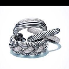 Loving these David Yurman bracelets!!