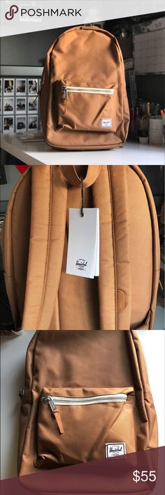 "Herschel Backpack Nude! Can carry 15"" laptop never been used!! Nude backpack! Settlement type. Tag is still in place. I do NOT accept trades just because I need cash for college books.  help a fellow college student out and buy my items! Herschel Supply Company Bags Backpacks"