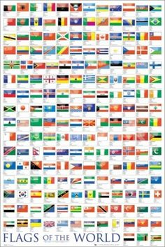 Framed World Flags Art Wall Decor Poster Wall Picture Print Multi-Size Minecraft Banner Designs, Minecraft Banners, Minecraft Creations, Flag Country, Country Art, All World Flags, Poster Wall, Poster Prints, Poster Poster