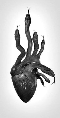 This would be B's Black Heart , if he had a heart.  Unfortunately he is a soulless monster who preys on the kindness of others.