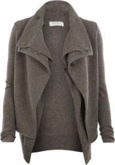 slouchy sweater jacket, fun for fall