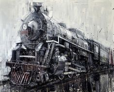 Dramatically Blurred Oil Paintings by Valerio D'Ospina