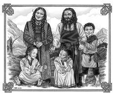 Zwergenfamilie