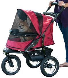 Pet Gear No-Zip Jogger Pet Stroller for Cats/Dogs, Zipperless Entry, Easy One-Hand Fold, Air Tires, Cup Holder Storage Basket ** You can get additional details at the image link. (This is an affiliate link) Cat Stroller, Jogging Stroller, Portable Air Pump, Pet Supplies Plus, Cheap Pets, Dog Shock Collar, Cat Cages, Pet Gear, Dog Car Seats