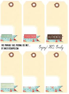 printables tags - Buscar con Google