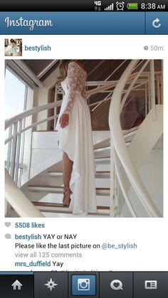 Love it.. not a wedding dress but it could be for a wedding lunch or something lol