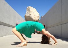 20 Ways to Pose for Photos at the LACMA Rock, Levitated Mass - (LA Weekly, Public Spectacle)