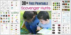 FREE Printable Scavenger Hunts for Kids - Homeschool Giveaways Outdoor Games For Kids, Outdoor Fun, Outdoor Toys, Outdoor Activities, Outdoor Dates, Scavenger Hunt For Kids, Scavenger Hunts, Kalter Winter, Kids Learning Activities