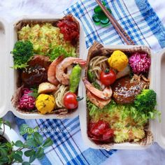 絶対マネしたい!人気ママインスタグラマーによる「運動会ランチボックス集」5選 - It Mama(イットママ) Bento Recipes, Lunch Box Recipes, Veggie Recipes, Dessert Recipes, Healthy Recipes, Japanese Lunch Box, Japanese Food, Japanese Recipes, Bento Box Lunch