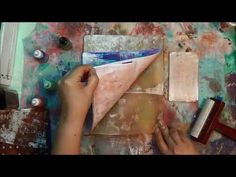 Worth Watching Surprising Effects With Gelli Plate
