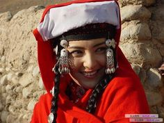Tajik woman, Xinjiang, China.
