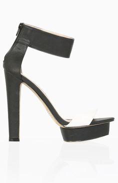 Billini Glory Heels Black And White