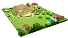 1 Monteville-genplan 3D