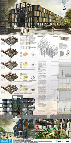 Discover recipes, home ideas, style inspiration and other ideas to try. Concept Board Architecture, Architecture Presentation Board, Architecture Panel, Architecture Drawings, Landscape Architecture, Landscape Design, Architecture Design, Architecture Posters, Architectural Presentation
