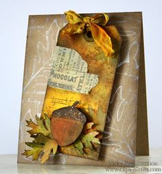 How-to video: Autumn Blueprint  a beautiful card from Vicky over at Clips-n-Cuts blog