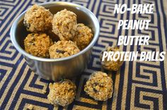 High Heels and Mommy Ordeals: No-Bake Peanut Butter Protein Balls