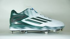 official photos 9f382 60a30 Adidas S84759 Men s Baseball 3 Cleats White Forest Carbon Metallic SIZE 13.5