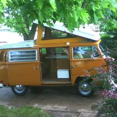 1972 VW Westfalia...our Summertime home away from home.