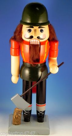 "German Nutcracker Doll 15"" Lumberjack"