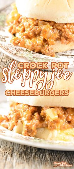 If you're new here, you may want to subscribe to my Free Newsletter. Thanks for visiting! Crock Pot Sloppy Joe Cheeseburgers are so yummy EVERYONE will ask for