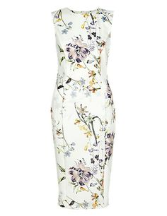 Floral Bodycon Dress from M&S (size 8 onwards - sigh....)