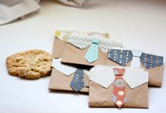 Father's Day cookie bags
