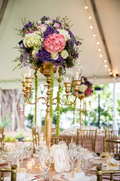 Opulent Floral Centrepieces | Ricky Stern Photography | Bridal Musings Wedding Blog