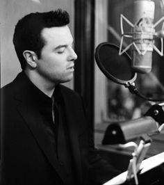 Seth Macfarlane - all the more attractive because he can sing <3 #Oscars2013