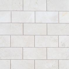 """$3.99 Marble Subway Tile Light Pearl / 6""""x12"""" / Polished"""