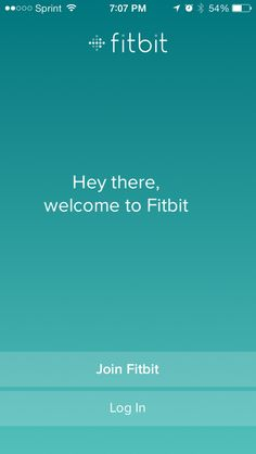 Fitbit app – simple #background
