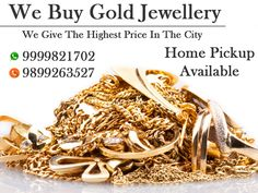 We are one of the best jewellery in Delhi NCR who gives perfect support of selling silver, gold, platinum and jewel with the full market cost. Get the best cash for gold here.