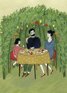 Sukkot by Yelena Bryksenkova