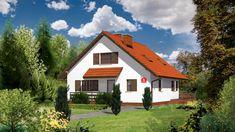 Wizualizacja Dom przy Cyprysowej CE Home Fashion, Dom, Ideas Para, Floor Plans, Cabin, Flooring, House Styles, Home Decor, Palmas