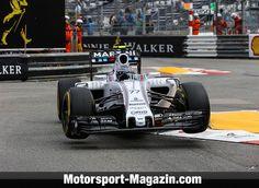 Formel 1 2015, Monaco GP, Monaco, Valtteri Bottas, Williams, Bild: Sutton