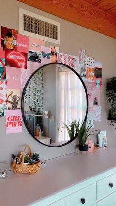 Cute Bedroom Decor, Teen Room Decor, Room Ideas Bedroom, Bedroom Inspo, Budget Bedroom, Bedroom Inspiration, Pretty Room, Aesthetic Room Decor, Cozy Room