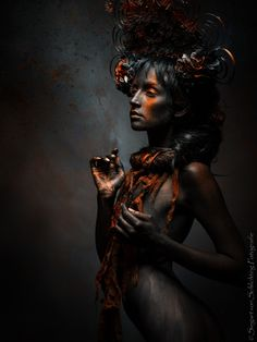 """Artistic Fashion Photography """" Golden Red """" By Siegart von Schlichting Dark Photography, Creative Photography, Portrait Photography, Fashion Photography, Dark Fantasy Art, Dark Art, Creative Portraits, Dark Beauty, Golden Red"""